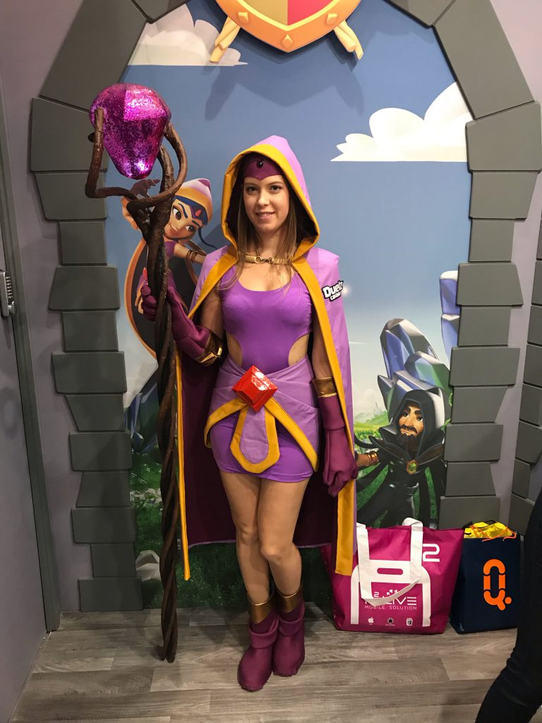 The Duelz Enchantress is turning some heads!